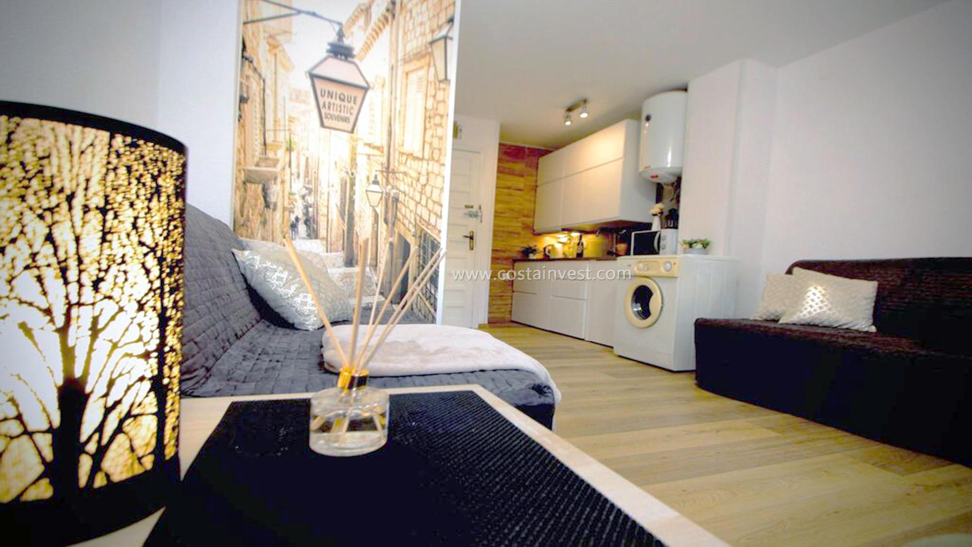 Studio -                                       Torrevieja -                                       0 bedrooms -                                       4 persons